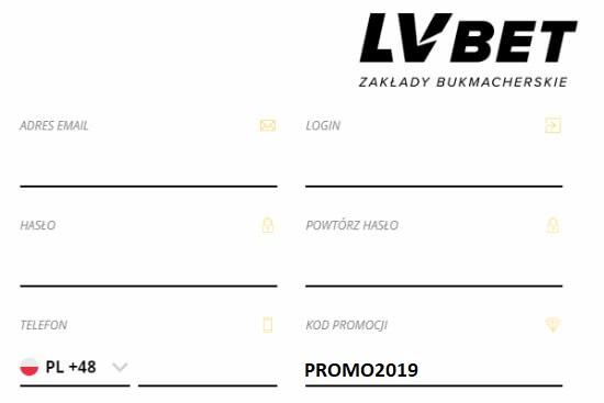 LVBET Kod promocji