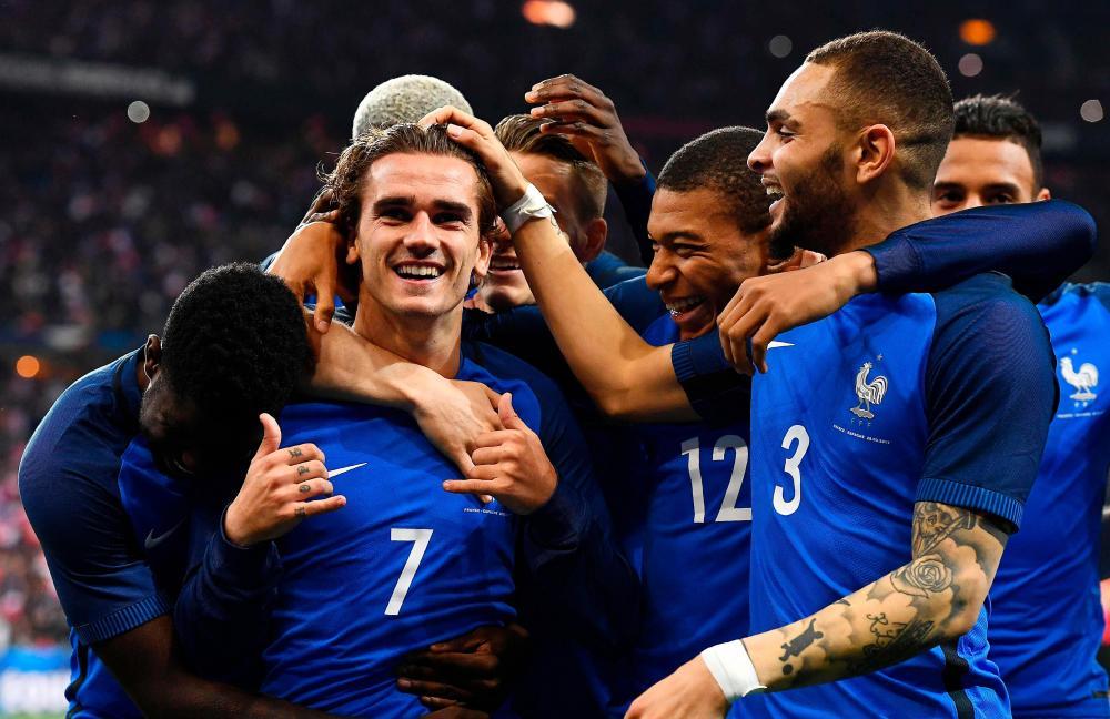 kadra Francji 2018