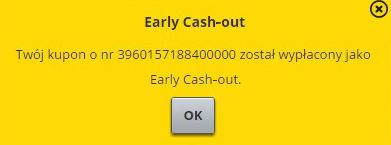 Fortuna cash-out potwierdzenie