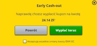 Fortuna cash-out wypłata